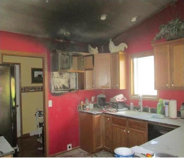 Kitchen Fire in North Richland County Before