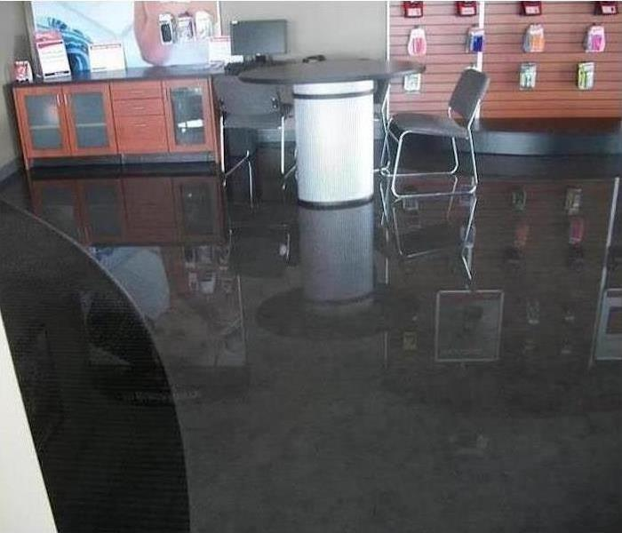 Commercial Water Damage- Richland County Ohio