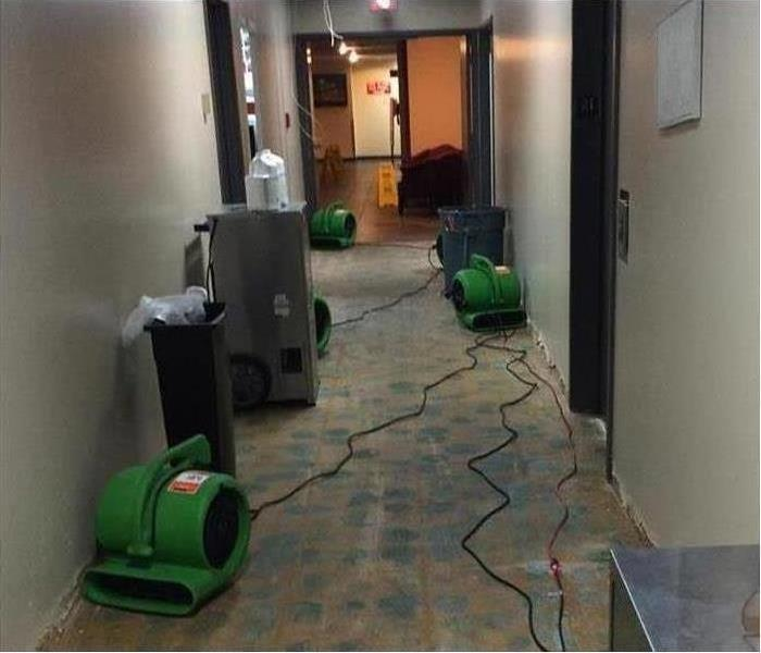 Commercial Water Damage – Richland County Office Building